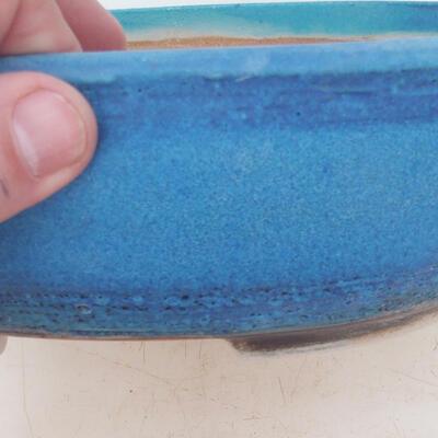 Bonsai-Schale 22 x 17 x 7 cm, Farbe blau - 2