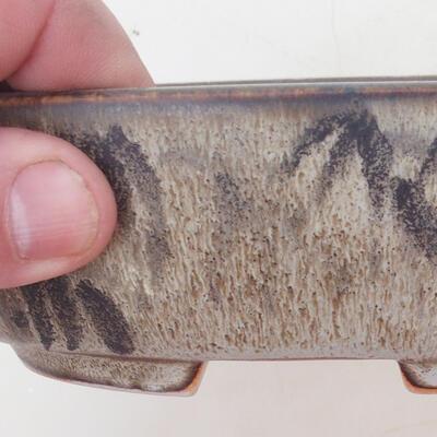 Bonsai-Schale 17 x 12 x 5 cm, Farbe braun-grau - 2