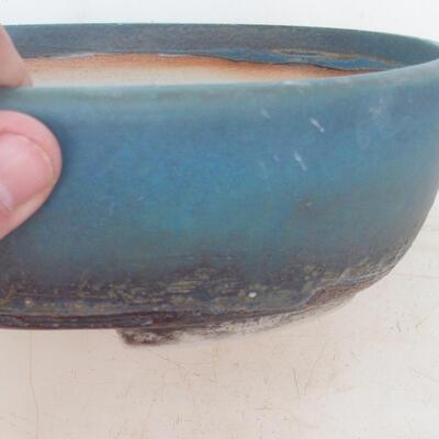 Bonsai-Schale 20 x 15,5 x 6 cm, Farbe blau - 2