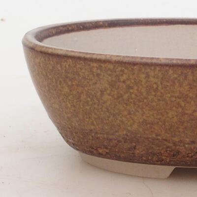 Bonsai-Schale 16 x 11 x 5 cm, Farbe braun - 2