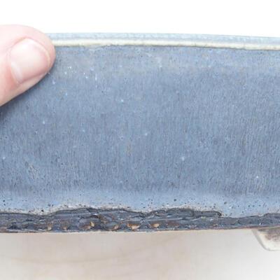 Bonsai-Schale 43 x 33,5 x 8,5 cm, Farbe blaugrau - 2