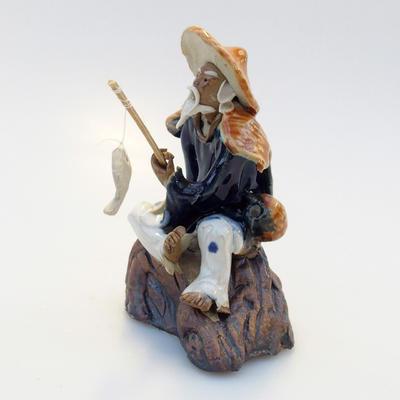 Keramik-Figur - Fisherman - 2