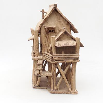 Keramikfigur - Hütte F18 - 2