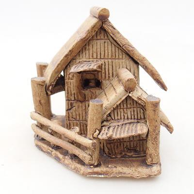 Keramikfigur - Hütte F27 - 2