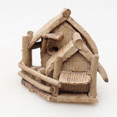 Keramikfigur - Hütte F28 - 2