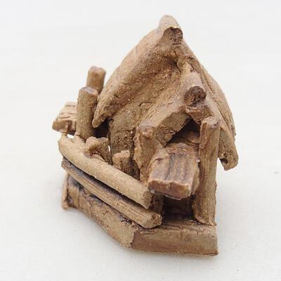 Keramikfigur - Hütte F32 - 2