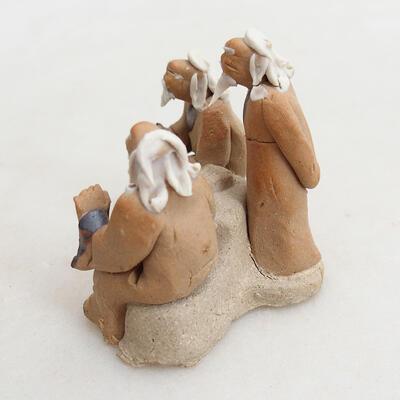 Keramikfigur - Strichmännchen H13 - 2