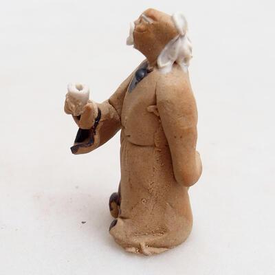 Keramikfigur - Strichmännchen H28 - 2