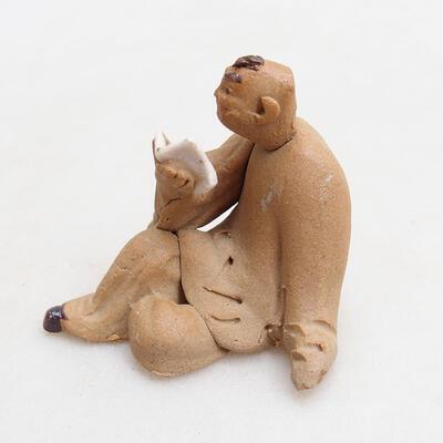 Keramikfigur - Strichmännchen I3 - 2