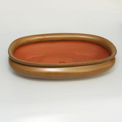 Bonsaischale aus Keramik H 15 - 26,5 x 17 x 6 cm - 2