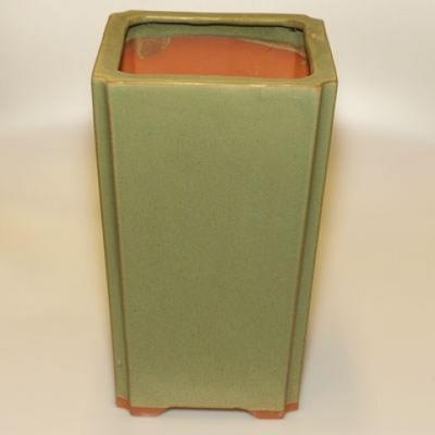 Keramik Bonsai Schüssel H 22 - 17,5 x 17,5 x 29 cm - 2
