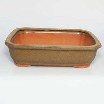 Bonsaischale aus Keramik H 20 - 26,5 x 21 x 7,5 cm - 2