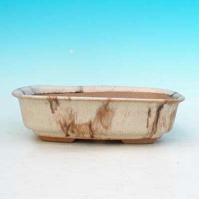 Bonsaischale aus Keramik H 02 - 19 x 13,5 x 5 cm - 2