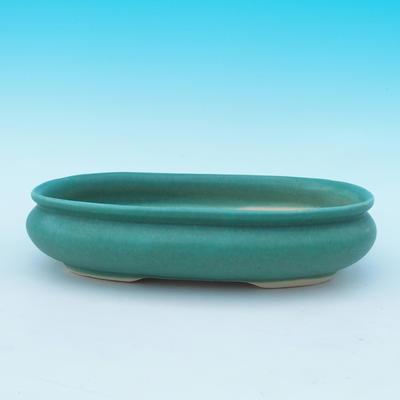Bonsai Schüssel Tablett H15 - Schüssel 26,5 x 17 x 6 cm, Tablett 24,5 x 15 x 1,5 cm - 2