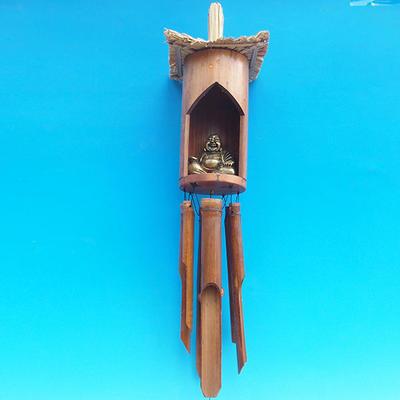 Bambus Windspiele Budha 120 cm - 2