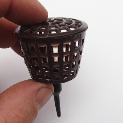 Kunststoffdüngerkörbe 10 Stück - 3,5 x 5,5 cm - 3