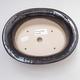 Keramische Bonsai-Schale 19 x 15 x 6 cm, Farbe schwarz - 3/4