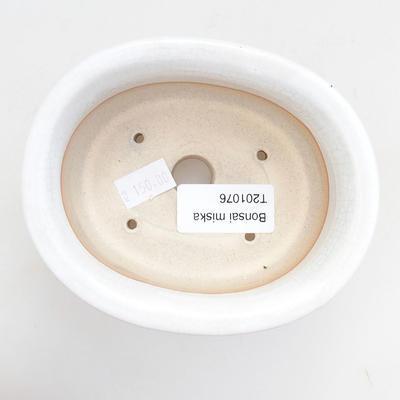 Keramik Bonsai Schüssel 11,5 x 10 x 5 cm, Krebse Farbe - 3