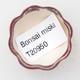 Mini Bonsai Schüssel 3,5 x 3,5 x 2 cm, Farbe rot - 3/3