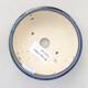 Keramische Bonsai-Schale 10,5 x 10,5 x 4 cm, Farbe blau - 3/3