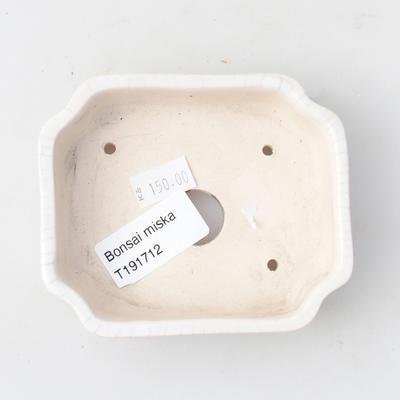 Keramik Bonsai Schüssel 10 x 8,5 x 2,5 cm, Krebse Farbe - 3