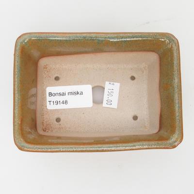 Keramik-Bonsai-Schale - im Gasofen bei 1240 ° C gebrannt - 3