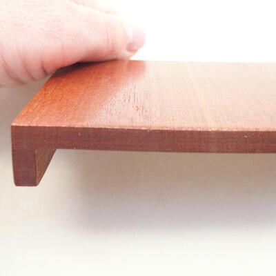 Holztisch unter dem Bonsai braun 10 x 8 x 1,5 cm - 3