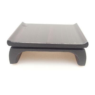 Holztisch unter dem Bonsai braun 9,5 x 8 x 3,5 cm - 3