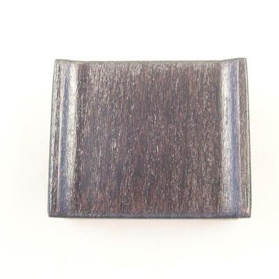 Holztisch unter dem Bonsai braun 5 x 4 x 2 cm - 3