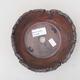 Keramik Bonsai Schüssel 14 x 14 x 5 cm, graue Farbe - 2. Qualität - 3/4