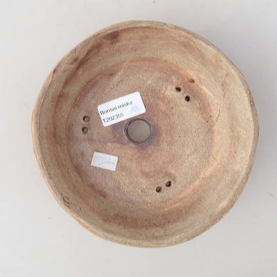 Keramik Bonsai Schüssel 16 x 16 x 5 cm, graue Farbe - 2. Qualität - 3