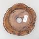 Keramik Bonsai Schüssel 16 x 16 x 4,5 cm, graue Farbe - 2. Qualität - 3/3