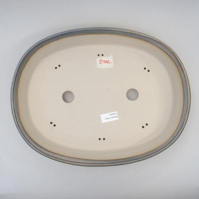Bonsai-Schale 38 x 29,5 x 7,5 cm, graue Farbe - 3
