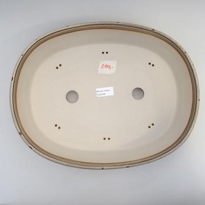 Bonsai-Schale 38 x 30 x 9 cm, Farbe grau-braun - 3