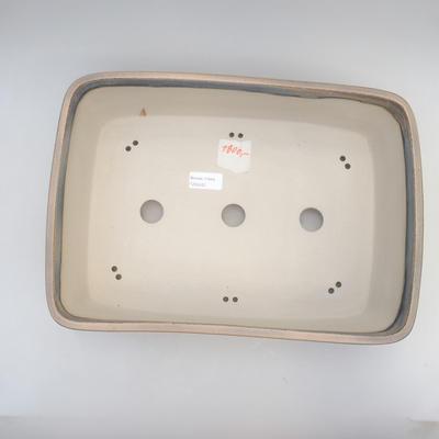 Bonsai-Schale 38 x 27 x 11 cm, grau-beige Farbe - 3