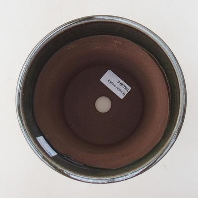 Keramische Bonsai-Schale 14,5 x 14,5 x 17 cm, Farbe grün - 3
