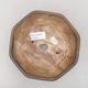 Keramische Bonsai-Schale 15,5 x 15,5 x 6,5 cm, braune Farbe - 3/3