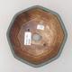 Keramische Bonsai-Schale 15,5 x 15,5 x 6,5 cm, Farbe grün - 3/3