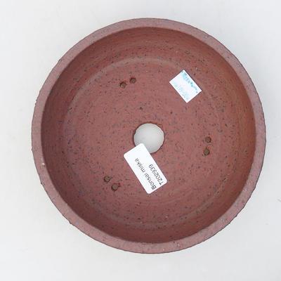 Keramische Bonsai-Schale 17 x 17 x 5,5 cm, graue Farbe - 3