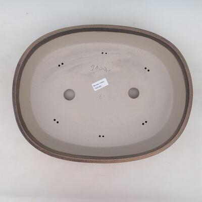 Bonsai-Schale 41 x 31 x 9,5 cm, beige Farbe - 3