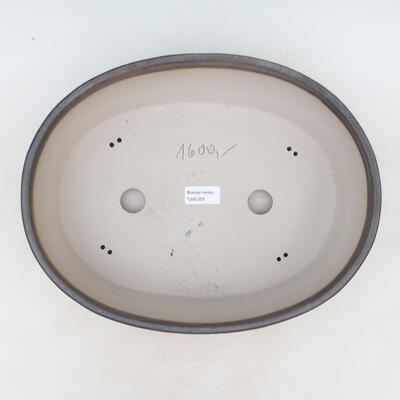 Bonsai-Schale 34 x 27 x 10 cm, Farbe beige - 3