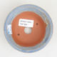 Keramik Bonsaischale 10 x 10 x 2,5 cm, Farbe grün - 3/3