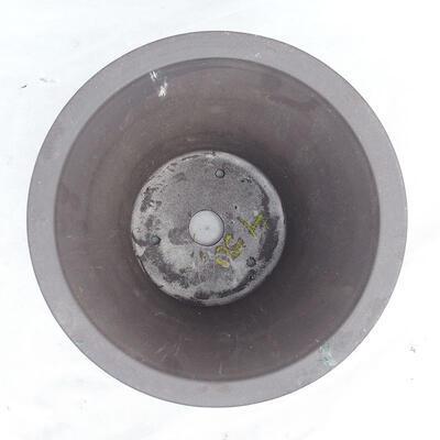 Bonsaischale 25 x 25 x 22 cm, graue Farbe - 3