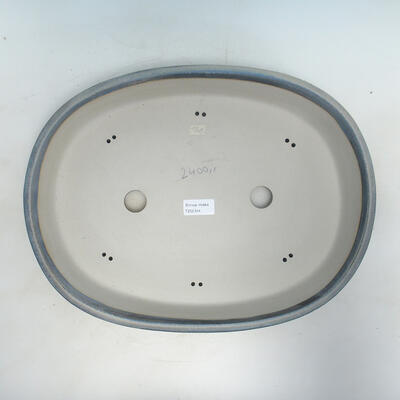 Bonsai-Schale 40,5 x 31 x 8 cm, Farbe grau - 3