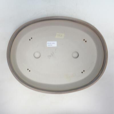 Bonsai-Schale 36 x 27 x 8 cm, beige Farbe - 3