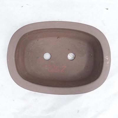 Bonsaischale 29 x 20 x 9 cm, graue Farbe - 3