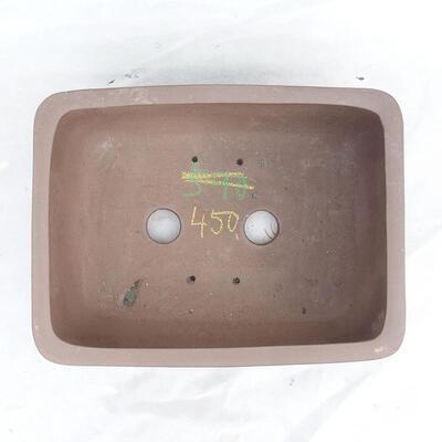 Bonsaischale 34 x 26 x 13 cm, graue Farbe - 3