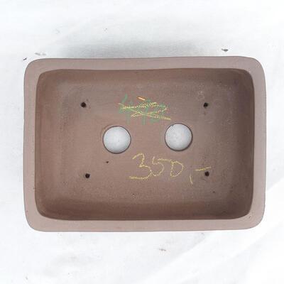 Bonsaischale 29 x 21 x 9,5 cm, graue Farbe - 3