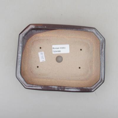 Keramische Bonsai-Schale 29,5 x 20,5 x 4 cm, Farbe grün - 3
