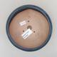 Keramische Bonsai-Schale 18 x 18 x 5 cm, Farbe braun - 3/4